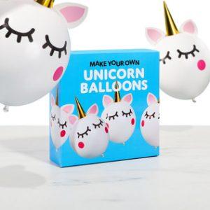Make Your Own Unicorn Balloons